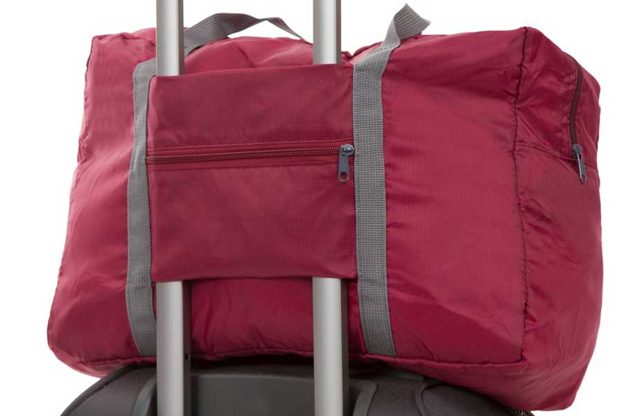 Compact duffel bag, Etsy JoyfulTidingsBridal, Gifts for travel lovers