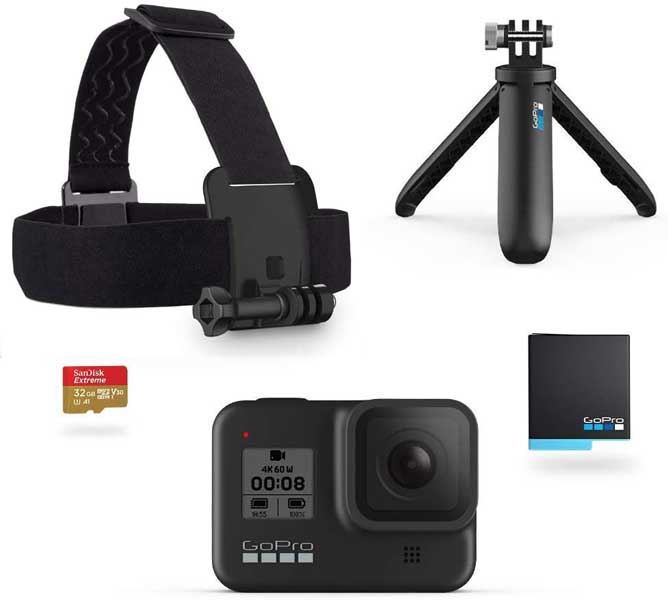 GoPro, travel gadgets, Gifts for travel lovers