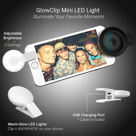 Xenvo smartphone lens kit, small travel gadgets for photographers, Gifts for travel lovers