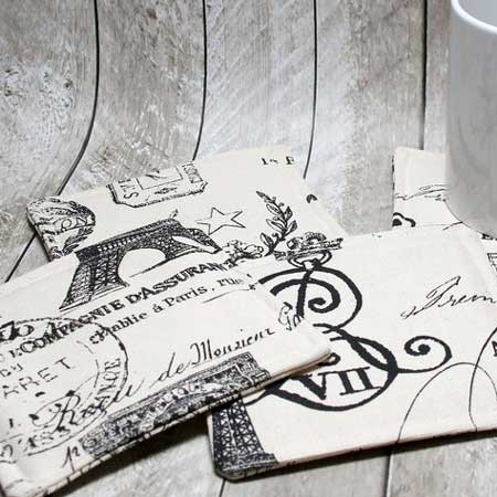 Travel-themed coasters, gifts for travel lovers, Etsy CCNdesigns