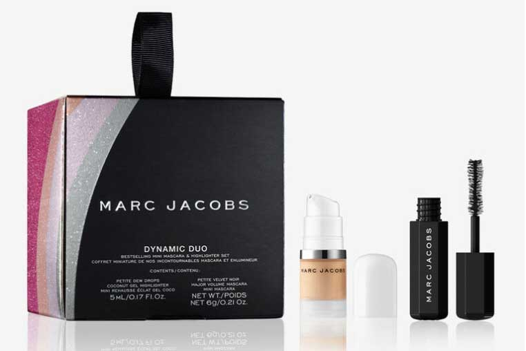 Luxury makeup for her, best luxury travel gifts for her, Marc Jacobs Beauty