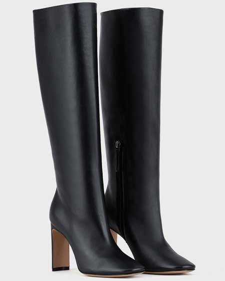 Luxury boots for her, best luxury travel gifts for her, designer Armani