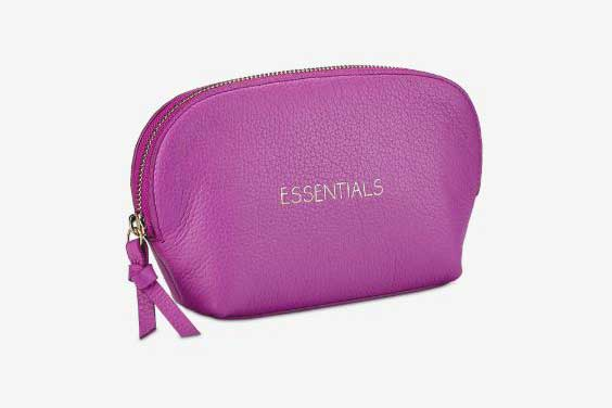 Luxury cosmetic bags for her, best luxury travel gifts for her, designer Gigi New York