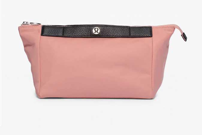 Luxury cosmetic bags for her, best luxury travel gifts for her, Lululemon