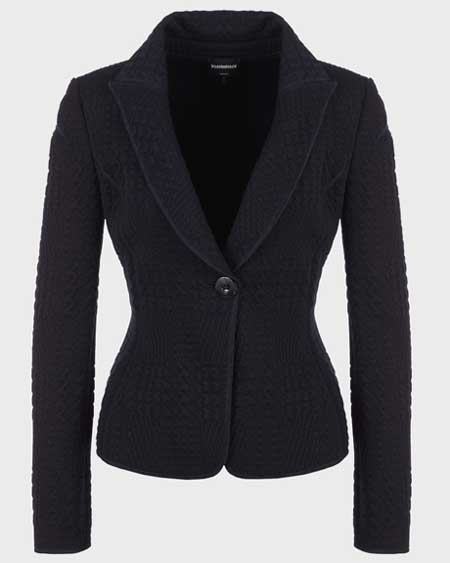 Luxury jackets for her, best luxury travel gifts for her, designer Armani