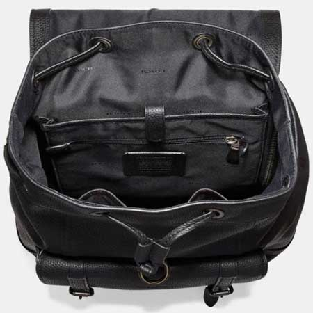 Leather backpack luxury gifts men, best luxury travel gifts for him and her, Coach