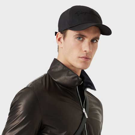 Visor hat luxury gifts men, best luxury travel gifts for him, Armani