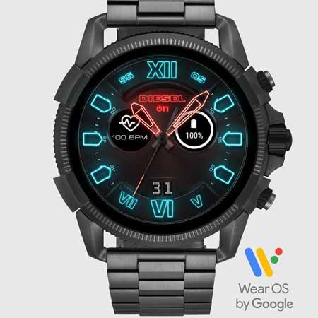 Smartwatch luxury gifts men, best luxury travel gifts for him, Diesel