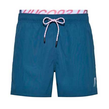 Swim shorts luxury gifts men, best luxury travel gifts for him, Hugo Boss