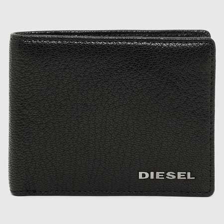 Bifold leather wallet luxury gifts men, best luxury travel gifts for him, Diesel
