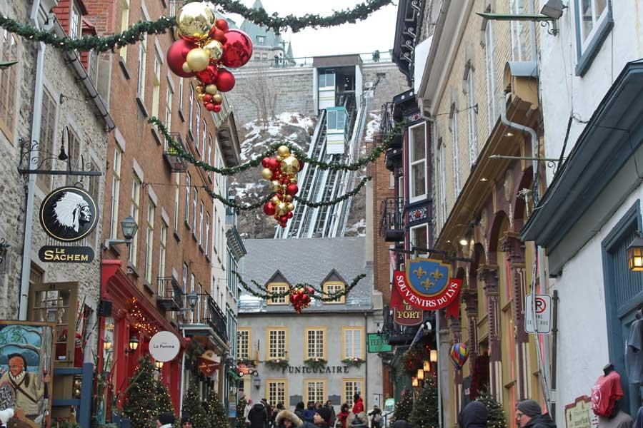 Quebec City, Canada Christmas vacation ideas for couples