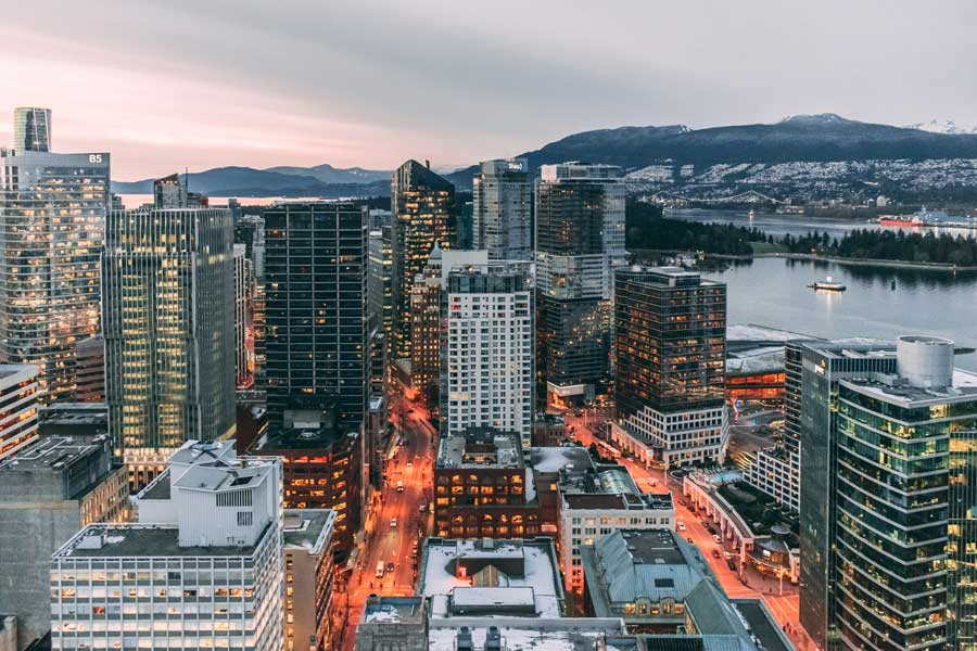 Vancouver, Canada Christmas vacation ideas for couples