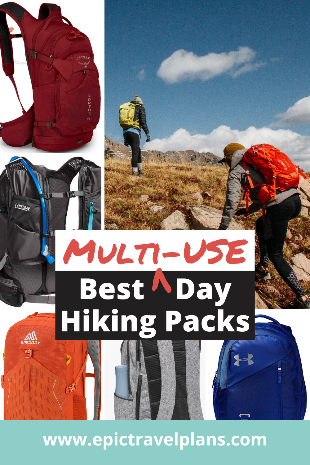 Best day hiking packs, backpacks for day hiking