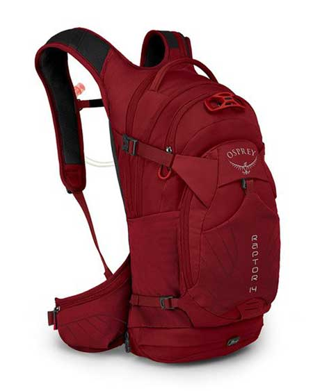 Day hiking pack, Osprey Raptor 14 Men's Backpack for day hiking
