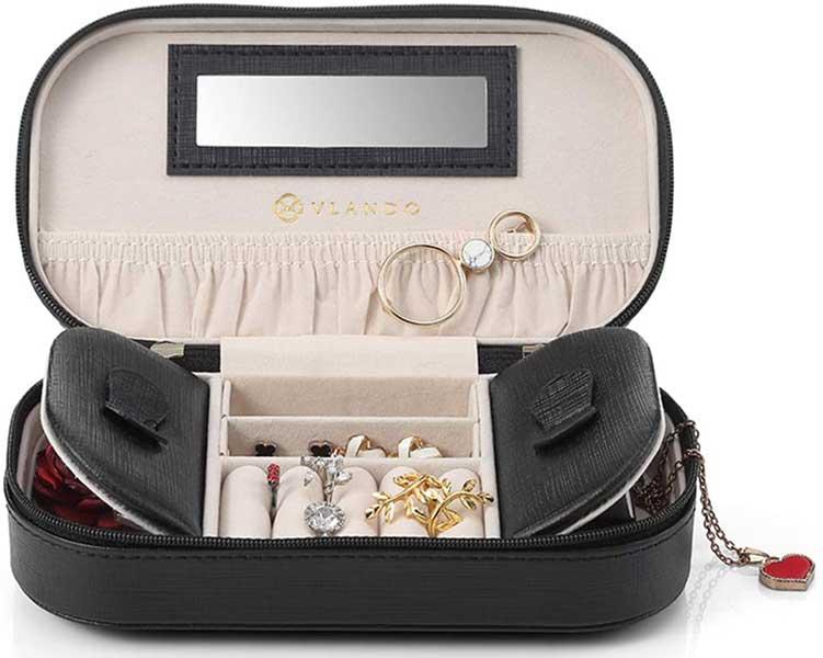 Travel jewelry box, Vlando