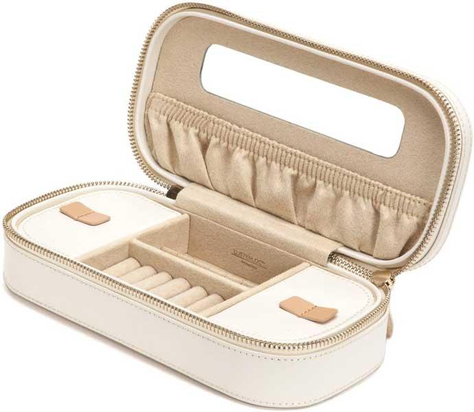 Travel jewelry case, jewelry box, WOLF