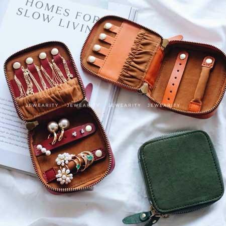 Small travel jewelry box, Etsy Jewearity