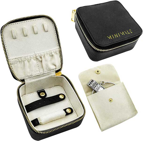 Small travel jewelry box, Minimale