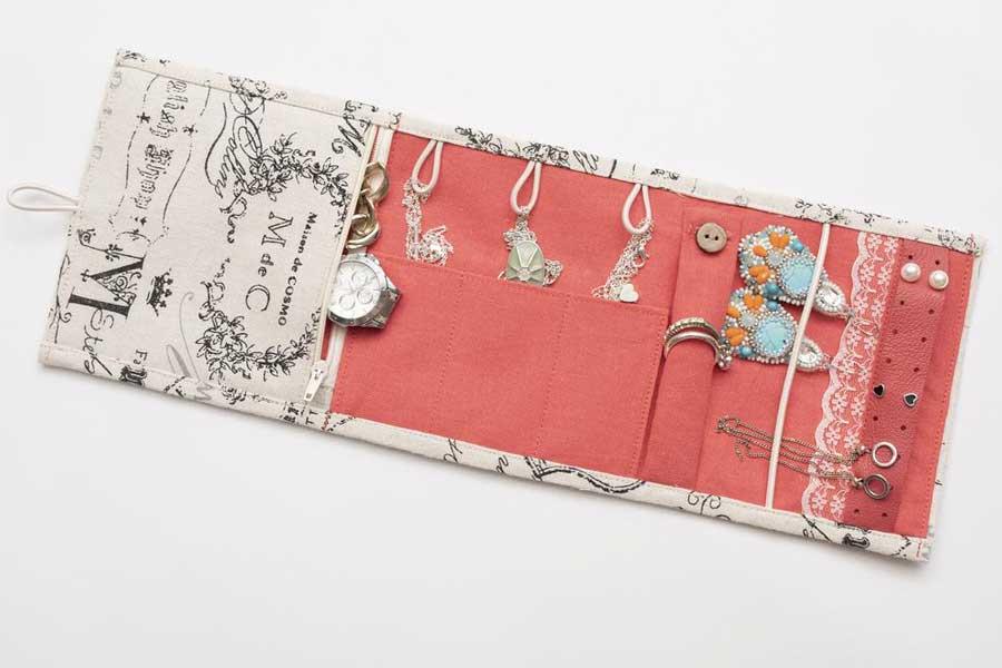 Mini travel jewelry roll organizer, Etsy naturequotes