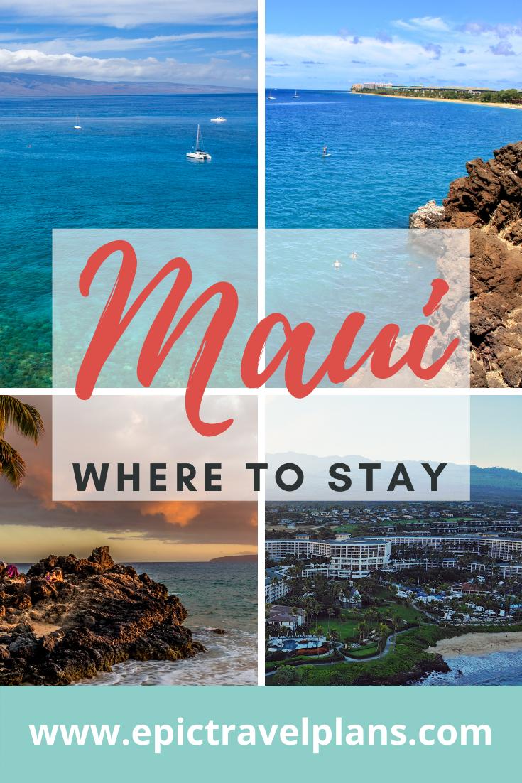 Areas to stay in Maui, Lahaina, Ka'anapali, Kihei, Wailea