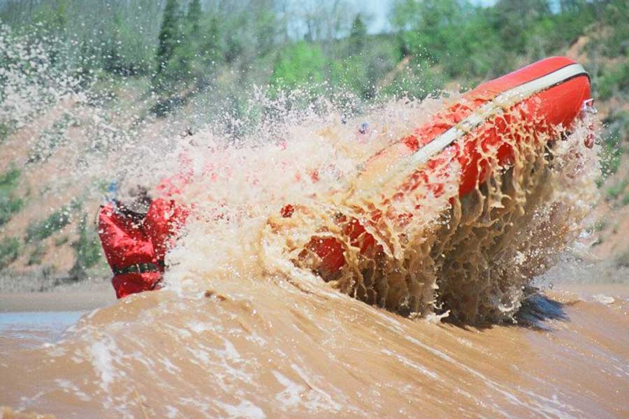 Coolest things to do in Nova Scotia, Bay of Fundy, Tidal Bore Rafting, River Runners
