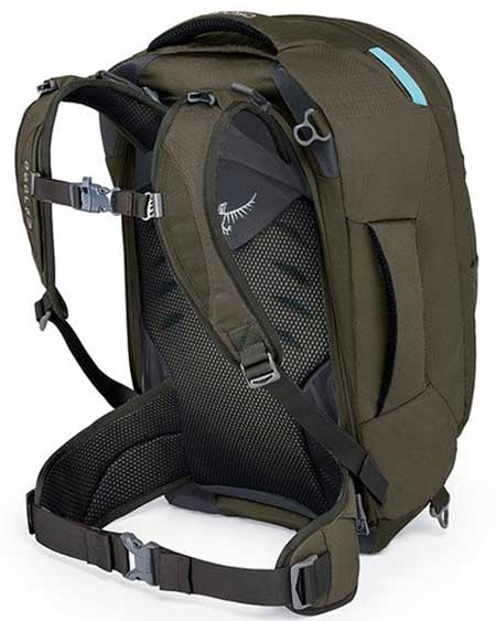Day hiking pack, carry-on bag, Osprey Fairview 40 Women's Backpack for day hiking
