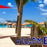 Disney cruise Eastern Caribbean, Eastern Caribbean cruises, St Maarten beach