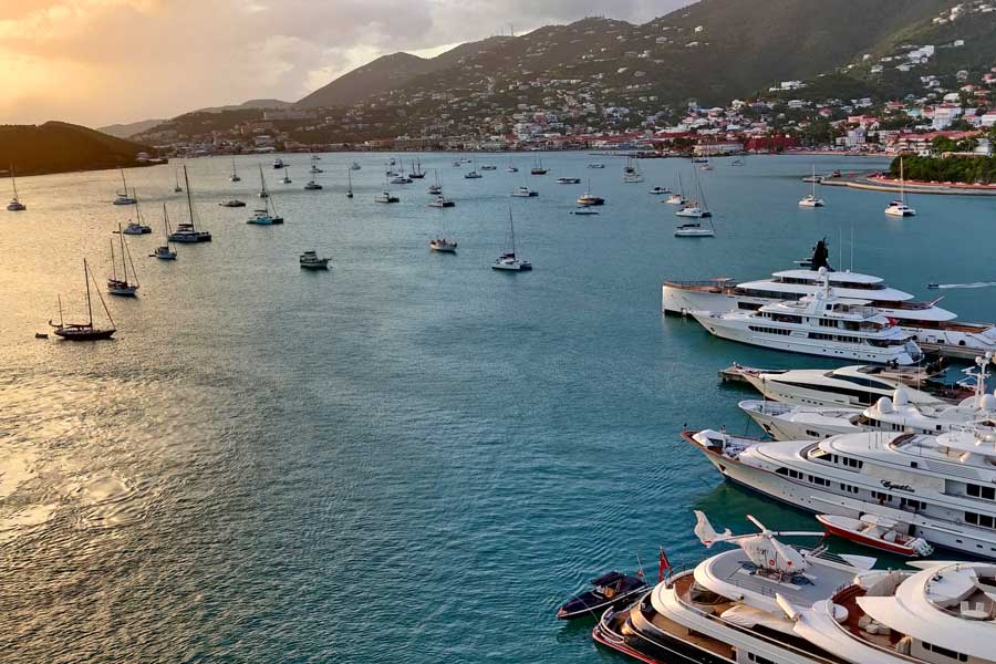 Disney cruise Eastern Caribbean, Eastern Caribbean cruises, St Thomas port