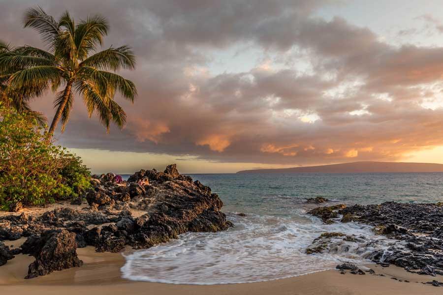 Beach at Kihei Maui Hawaii, areas to stay in Maui