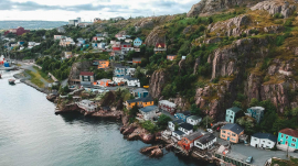 Newfoundland coastal village, Romantic getaways in Eastern Canada, best hotels in Atlantic Canada