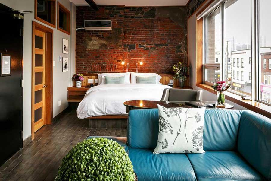 Romantic getaways in Eastern Canada, best hotels in Newfoundland, Atlantic Canada, Blue on Water