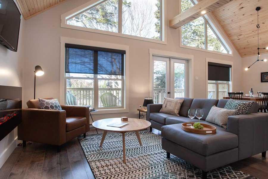 Romantic getaways in Eastern Canada, best hotels in Newfoundland, Atlantic Canada, Indian Falls Chalets