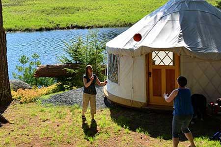 Kejimkujik National Park glamping, Romantic getaways in Eastern Canada, best hotels in Nova Scotia, Atlantic Canada