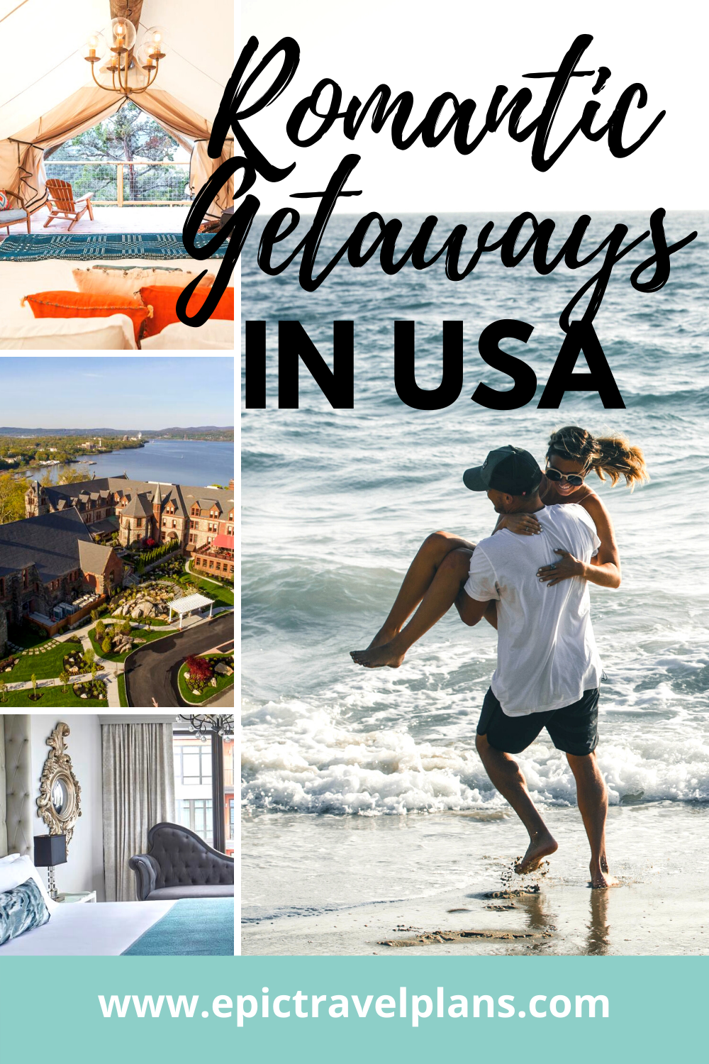 Best hotels for romantic getaways in USA
