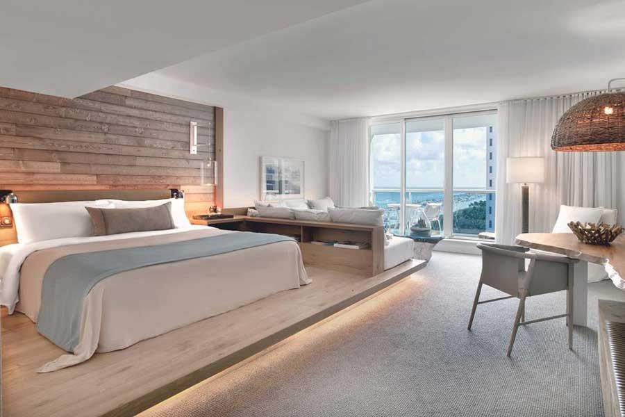 1 Hotel South Beach, Hotels for romantic getaways Florida USA, romantic weekend getaways United States, Miami Beach Florida, 1 Hotel