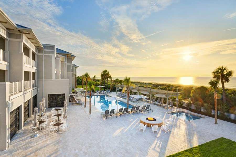 Hotels for romantic getaways Georgia USA, romantic weekend getaways United States, Savannah, Jekyll Island, Ocean Club Resort