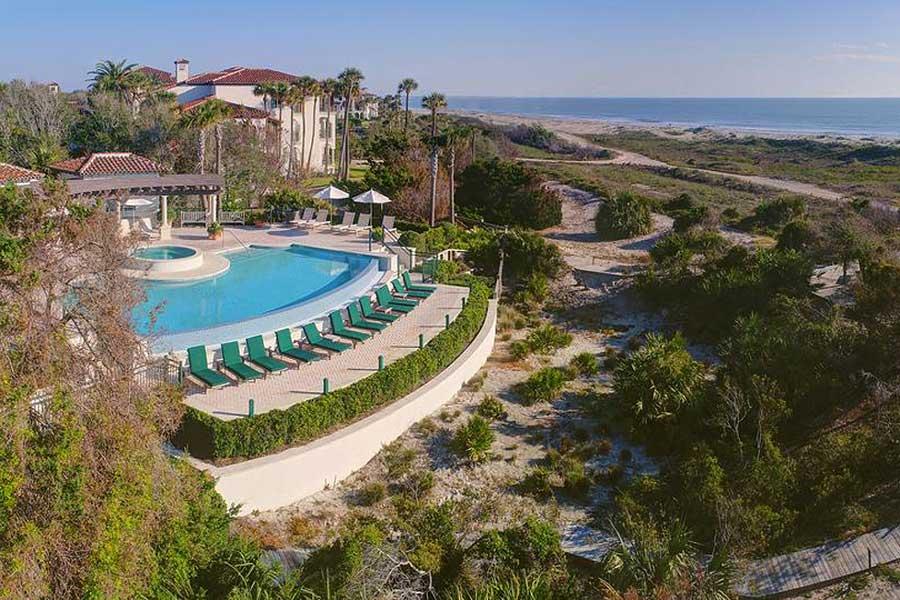 Hotels for romantic getaways Georgia USA, romantic weekend getaways United States, Sea Island, Cloister Hotel