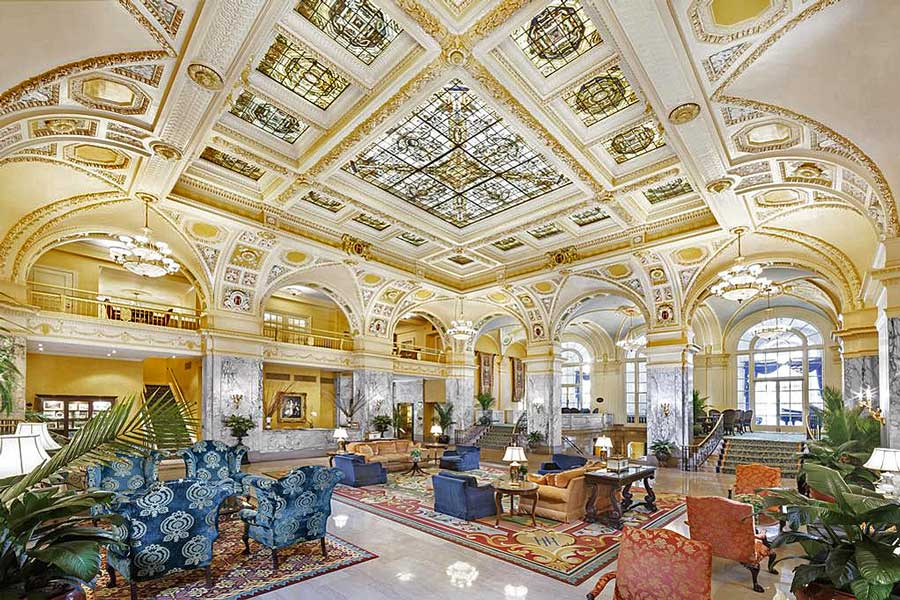 Hotels for romantic getaways Tennessee USA, romantic weekend getaways United States, Nashville, Hermitage Hotel
