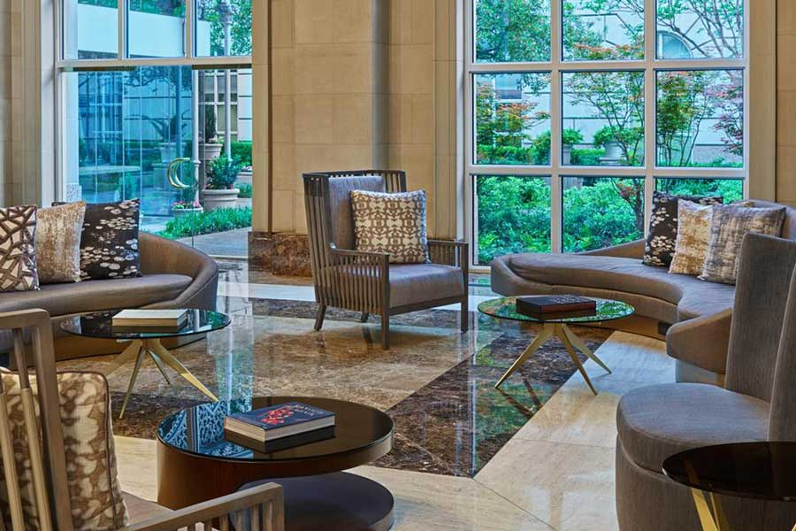 Hotels for romantic getaways Texas USA, romantic weekend getaways United States, Dallas Texas, Crescent Court Hotel