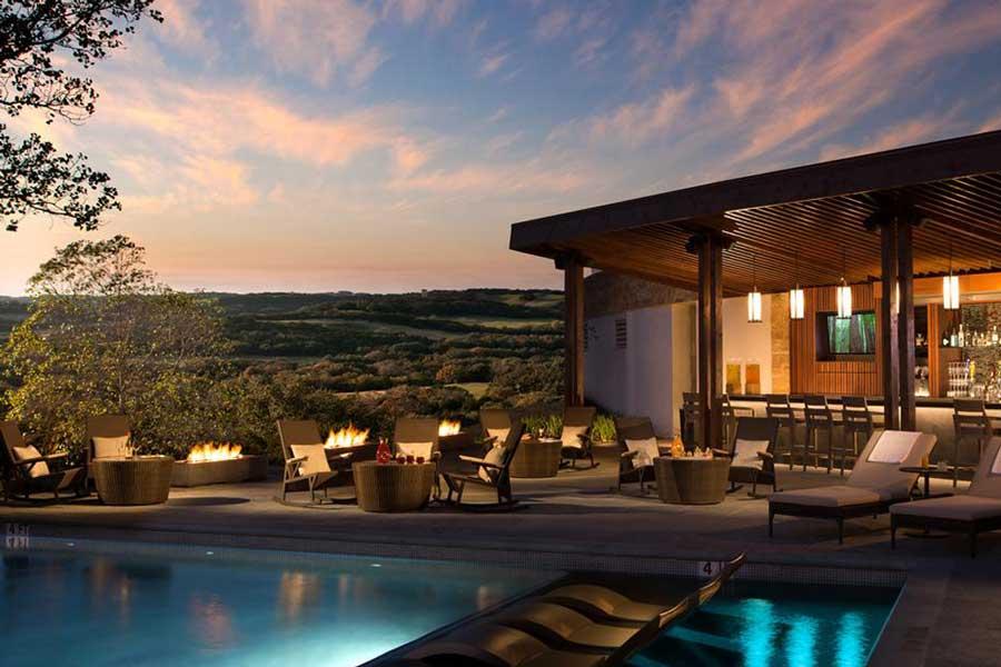 Hotels for romantic getaways Texas USA, romantic weekend getaways United States, San Antonio, Cantera Resort Spa