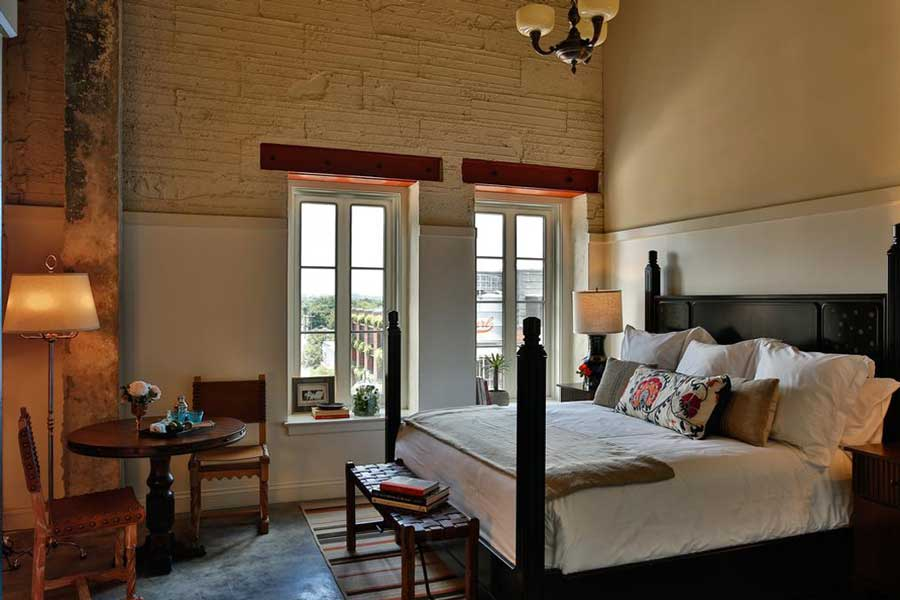 Hotels for romantic getaways Texas USA, romantic weekend getaways United States, San Antonio, Emma Hotel