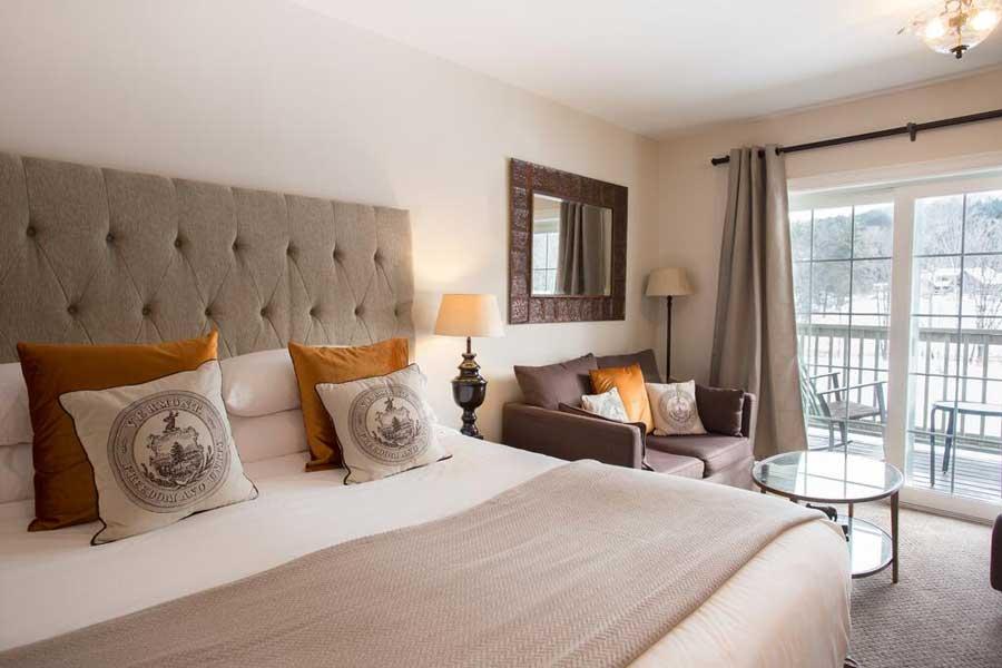 Hotels for romantic getaways Vermont USA, romantic weekend getaways United States, Woodstock, 506 River Inn