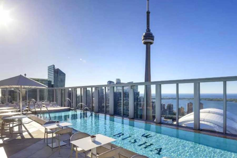 Hotels for romantic getaways in Toronto Ontario Canada, Bisha Hotel
