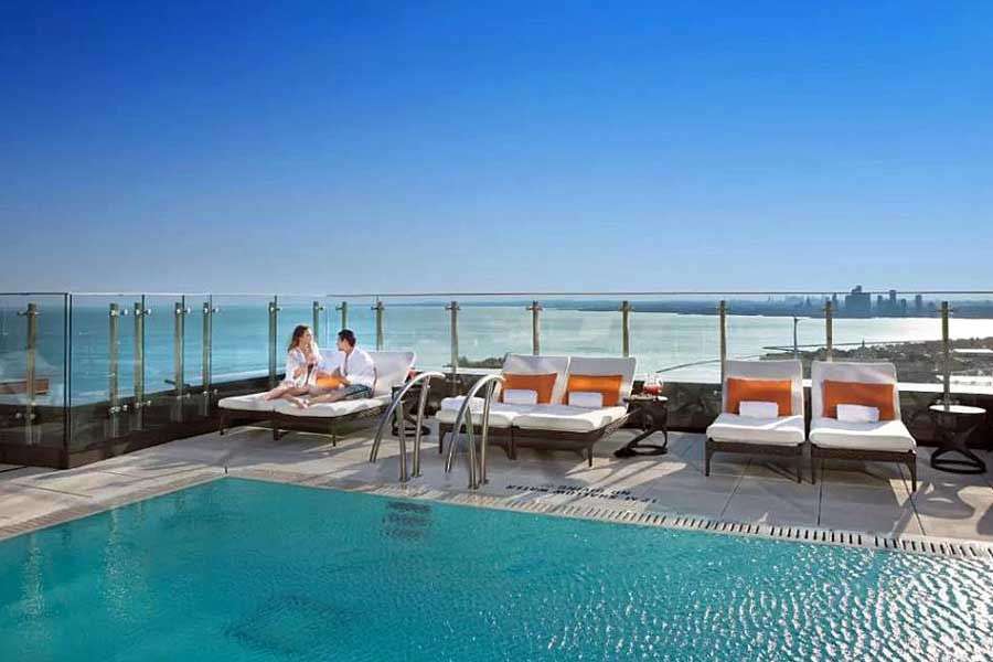Hotels for romantic getaways in Toronto Ontario Canada, Hotel X