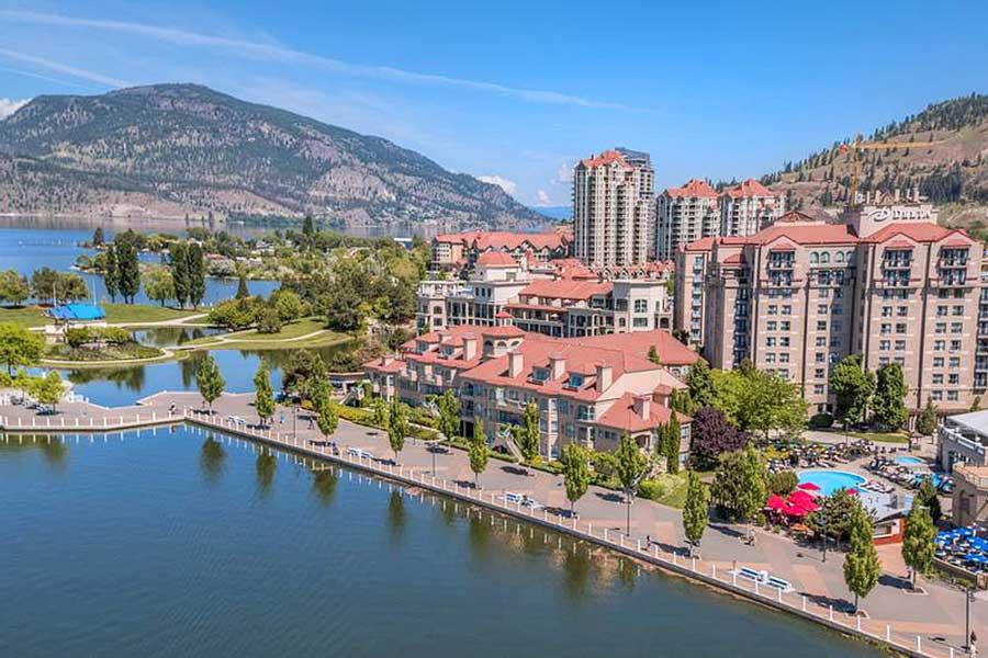 BC romantic getaways, BC Interior, resort spa getaways for couples in Canada, Okanagan Valley Kelowna