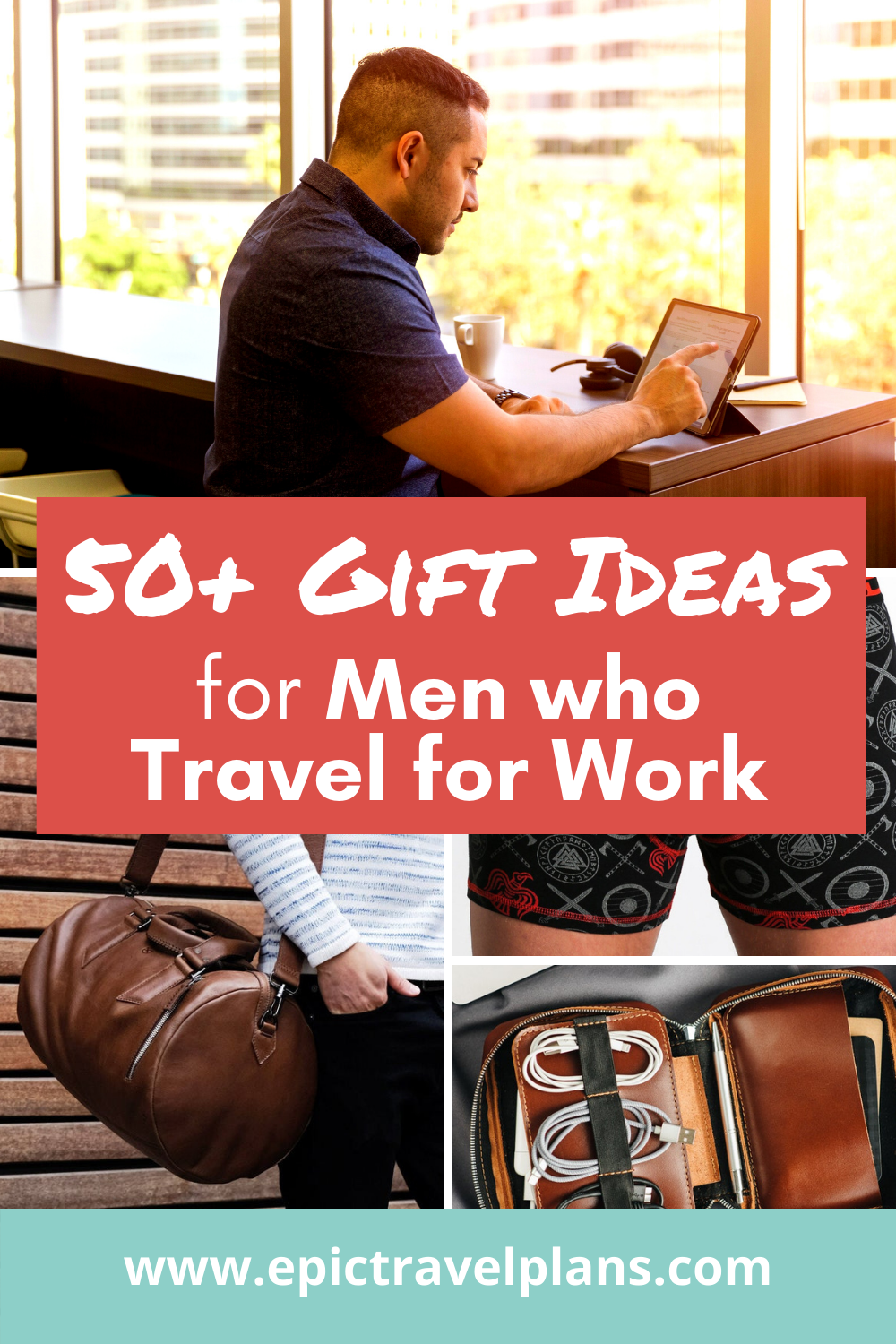 Best gift ideas for men who travel for work, business travel gifts for him