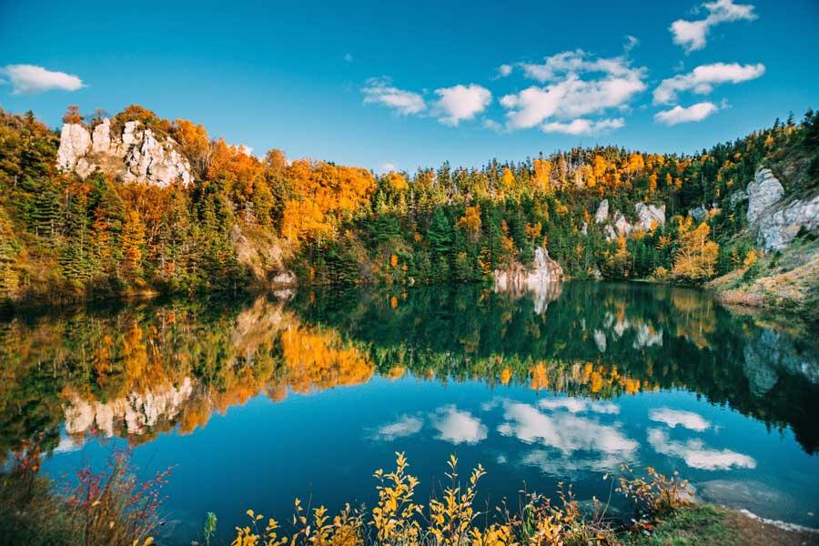 Cape Breton Island fall foliage, East Coast road trip Canada from Toronto to Nova Scotia
