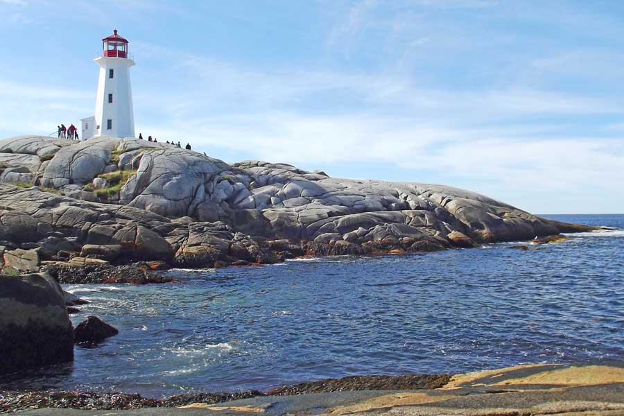 Peggy's Cove Lighthouse, East Coast road trip Canada from Toronto to Nova Scotia