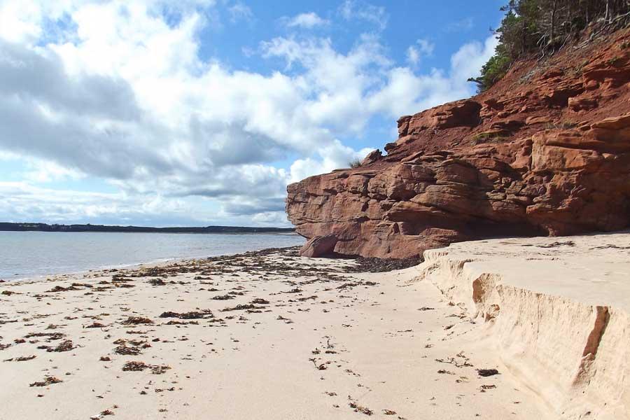 Beach at Prince Edward Island, East Coast road trip Canada from Toronto to Nova Scotia