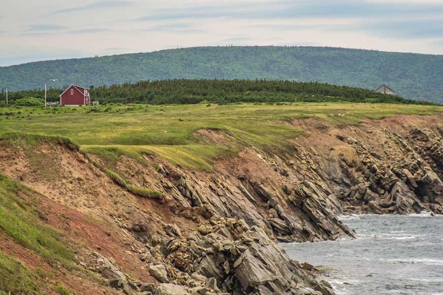 Cape Breton Island Nova Scotia, golfing trips with dad Canada